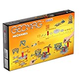 Geomag - MECHANICS - 146-Piece Building Set with Magnetic Motion, Certified STEM Construction Toy, Safe for Ages 5 and Up (Toy)
