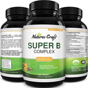 Vitamin B Complex Adult Multivitamin - Super B Complex Vitamins for Immune Support Mood Boost and Memory Supplement for… 41