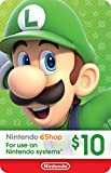 $10 Nintendo eShop Gift Card [Digital Code] (Software Download)