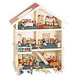 Goki - 51957 - Maison de poupées - 3 étages