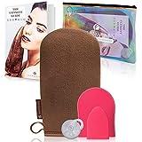 Conjunto Ultimitt de guantes aplicadores de autobronceador de lujo para un bronceado suave y sin sol