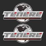 WHJIXC para Yamaha Adventure Touring TENERE 1200 XT1200Z Super, Pegatina de Motocicleta, Maletas Laterales traseras, Caja de Aluminio para Equipaje