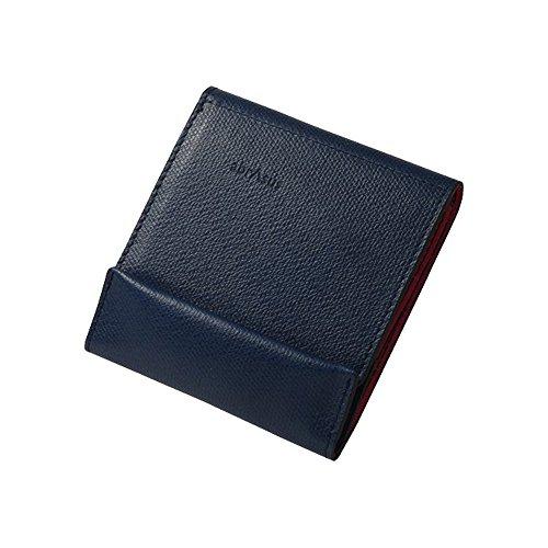 薄い財布 abrAsus(アブラサス)ネイビー × ピンク