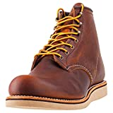 Red Wing Heritage 6' Rover Round Toe Copper Rough and Tough 10.5
