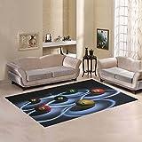 Love Nature Sweet Home Modern Collection Custom Billiard Area Rug 7'x5' Indoor Soft Carpet