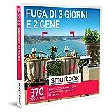 smartbox - Cofanetto Regalo Fuga di 3 Giorni e 2 cene - Idea Regalo per Coppie - 2 Notti con Colazione e 2 cene per 2 Persone