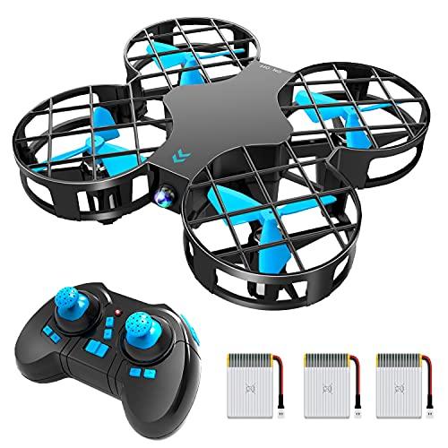 H823H Mini Drone per Bambini, Funzione Lancia&Vola, Funzione Hovering, Modalit Senza Testa, Rotazione a 360, Decollo / Atterraggio a Un Pulsante, Velocit Regolabile