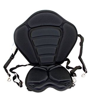 YakGear SMR, Manta Ray Deluxe Seat, Fits Sit On Top or Sit Inside Kayaks and Canoes
