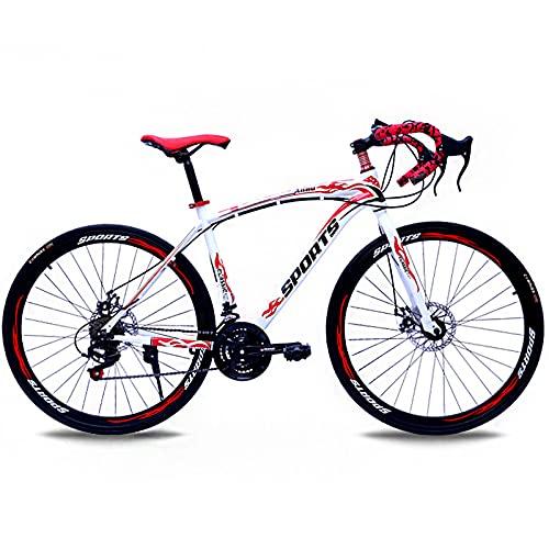 Bicicletas De Carretera De 26 Pulgadas, Frenos De Doble Disco...