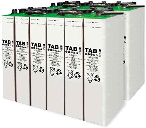 Baterías solar fotovoltaicos 6 unidad TAB 3 TOPzS 265-345AH 2V...