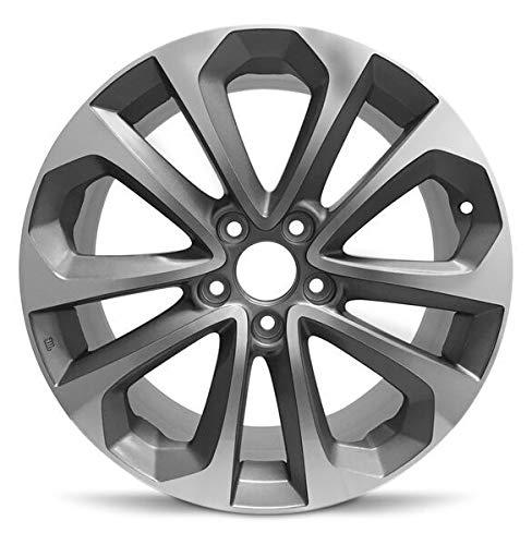 Road Ready Car Wheel for 2013-2015 Honda Accord 18 inch Aluminum Alloy Rim Fits R18 Tire - Exact OEM Replacement