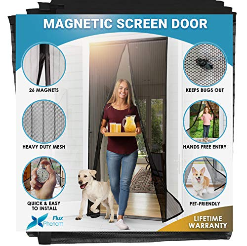 51eCVsfyubL - 7 Best Magnetic Screen Doors for Keeping Bugs Out Of Your Home