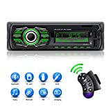 X-Reako Autoradio Bluetooth pour Lecteur MP3, appels Mains Libres, Radio...