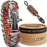 Paraloop Original | Bracelet Paracord pour Homme + Pendentif avec Sifflet | Tressé à la Main |...