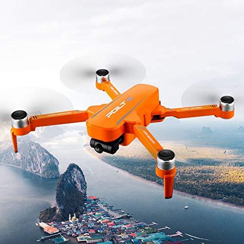 Drone RC, Drones JJRC X17 avec 6K double camra GPS quadrirotor hlicoptre  flux optique jouet d'hlicoptre sans balai, 30 minutes de fonctionnement (giallo-2 batteria)