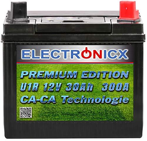 Electronicx Green Power U1R Batteria Premium per i trattorini tosaerba e macchine per il...