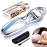 Presse Ail Professionnel Coupe Ail Inox Garlic Press Manuel...