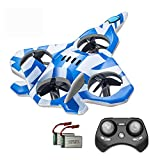 Zego F22 Remote Control Drone for Kids and Beginne, Easy to Fly and Hover, RC Quadcopter Fighter Jet...