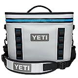 Yeti(イエティ) Hopper Flip (ホッパーフリップ) Cooler 持ち運び簡単 クーラー BOX Fog Gray/Tahoe Blue 18QT [並行輸入品]