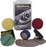 Kitautos KF75MM Kit de Polissage pour Phares, Plastique