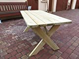 Platan Room Gartenmöbel aus Kiefernholz Gartenbank Gartentisch Kiefer Holz massiv - 3