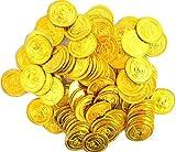 海賊アイテム ゴールドコイン 金貨 100枚 メンテナンスウェットシート付