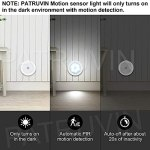 PATRUVIN Motion Sensor Light for Home with...