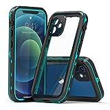 カメラ保護付き iPhone12 ケース 防水ケース 完全防水 クリア 耐衝撃 キャラクター 防水 防塵 ……