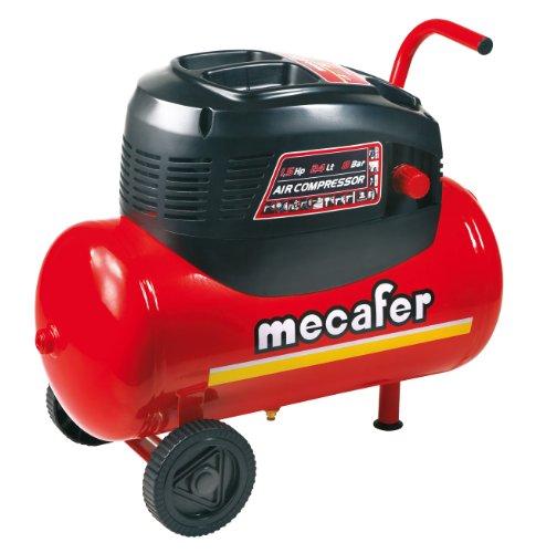 Mecafer 425068 Compresseur 24 L 1,5 hp oil