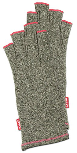 IMAK Compression Arthritis Gloves, Ruby, Medium