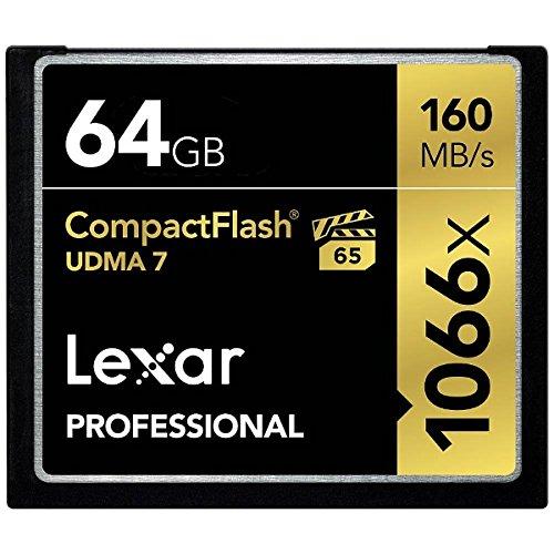 Lexar Professional 1066x CompactFlashカード 64GB 国内正規品 制限付永久保証 LCF64GCRBJPR1066