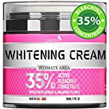 Bleaching Cream for Intimate Areas - Made in USA - Skin Whitening Cream Infused with Hyaluronic Acid & Potent Mulberry Extract - Dark Spot Remover for Body & Skin Lightening - 1.7 Oz