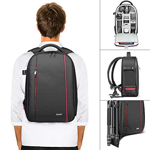 Neewer Zaino Backpack Professionale per Fotocamera Impermeabile Antiurto 42x28x14cm con Supporto per...