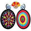 Reversible Magnetic Dart Board Darts Game Set Gift for 8 Year Old Boy Boys Donnie Fun Toy 2 Games in 1 Safe Family Kid Indoor Play Durable Best Party Present Toys Gifts Idea