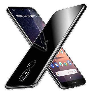 Soezit Plain Flexible Transparent Back Cover for Nokia 3.2