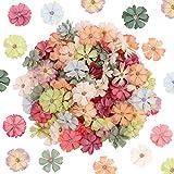 Têtes de fleurs artificielles 100 pièces décoratives fleurs de marguerite...