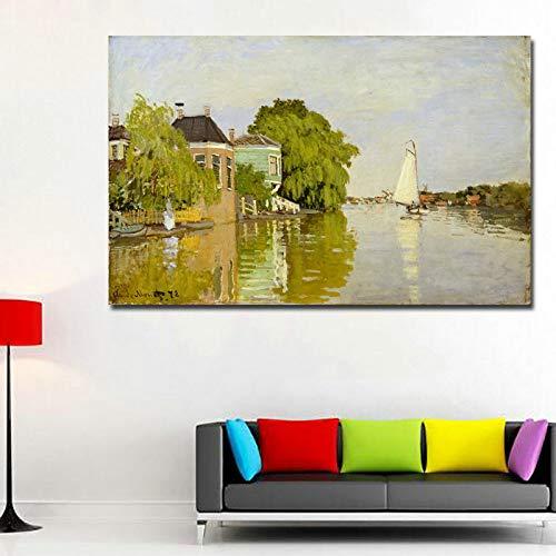 YHZSML Monet Quadri Famosi Stampa HD Poster di Monet per Soggiorno Immagini murali Immagini...