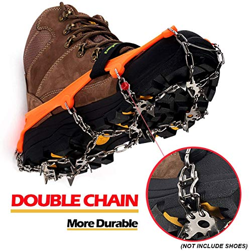 Spike Crampon Ice Grippers - Superb Traction For Icy Terrain