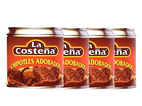Chipotles in Adobo Chilis Spar-Paket 4er-Pack