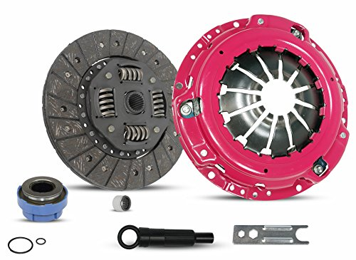 Clutch Kit Compatible With Pickup B2300 B2500 Ranger Base XL XLT Limited Sport STX DX Edge Tremor Troy Splash SE 1995-2011 2.3L L4 GAS DOHC 2.5L L4 GAS SOHC 3.0L V6 (Stage 1; 07-142R)