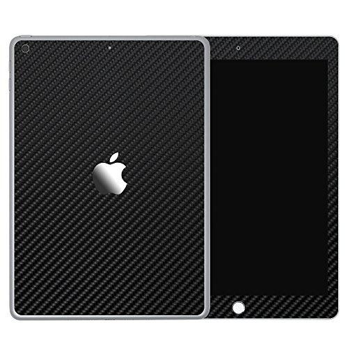 wraplus for iPad Pro 12.9インチ 第2世代 全31色 [ブラックカーボン] スキンシール 背面 フィルム ケース 2017