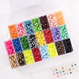 Vaessen creative Perles à Repasser, Mélange de 24 couleurs, 5000 pièces dans...