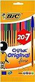 BIC Cristal Original Stylos-Bille Pointe Fine (0,8 mm) - Couleurs...