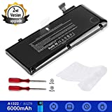 A1322 Battery for A1278 Apple MacBook pro 13 inch Mid 2012 Early 2011 Late 2011 Mid 2010 2009 with 6000mAh Newer Tech (MC374LL/A MB990LL/A MB991LL/A MC700LL/A MD313LL/A MD101LL/A MD102LL/A Battery)