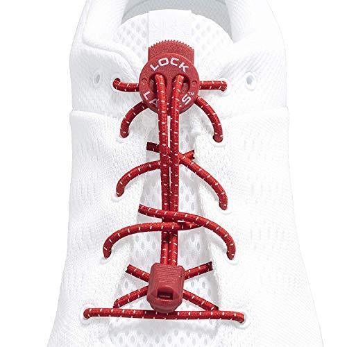 結ばない靴紐 LOCK LACES 全米売上No.1(正規代理店)(Red)