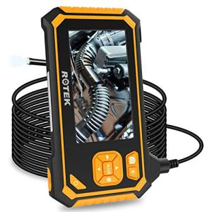 Industrial Endoscope,ROTEK 5M 1080P HD 4.3inch LCD Screen 2600mAh...