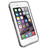 LifeProof FRĒ iPhone 6 ONLY Waterproof Case (4.7' Version) - Retail Packaging - AVALANCHE (BRIGHT WHITE/COOL GREY)