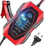 YDBAO Chargeur de Batterie Auto Intelligent Rapide 6A 12V/24V Chargeur de...