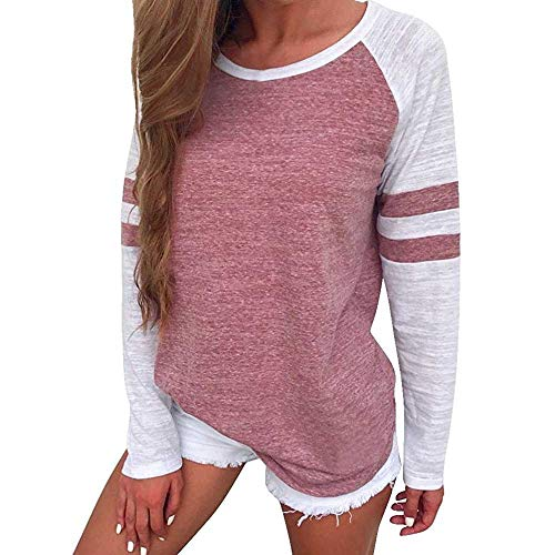 Bipily Magliette Donna Maniche Lunghe Autunno Casuale Donna Tshirt Manica Lunga Tops