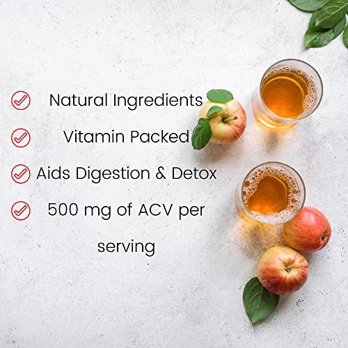 Apple Cider Vinegar Gummies with Mother - All Natural, GMO-Free, Vegan Apple Cider Vinegar Capsules for Increased Energy, Weight Management, Improved Digestion, Detox & More- 60 ACV DR. Gummies 5